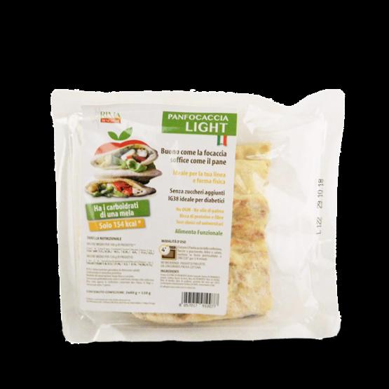 rima benessere panfocaccia light alimento da 120 grammi