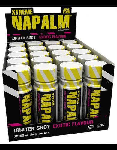 xtreme 1napalm igniter shots  fitness authority fa aelastore.com