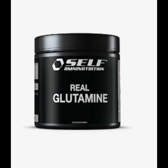 self omninutrition real glutammina 250 gr barattolo real 100 in polvere