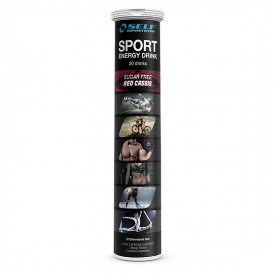 self omninutrition sport energy drink 20 tab red cassis