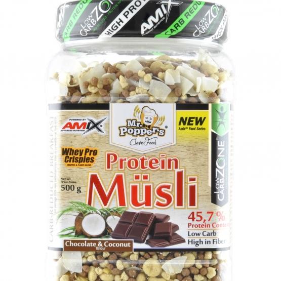 Protein Muesli Amix 500 frutti di bosco