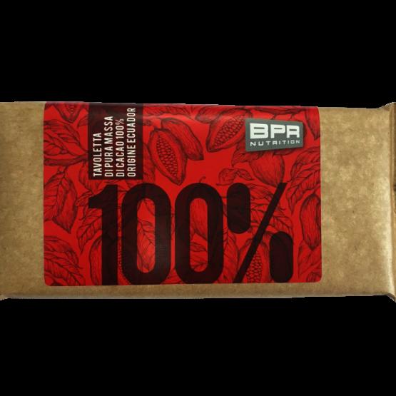tavoletta 100 cacao BPR Nutrition