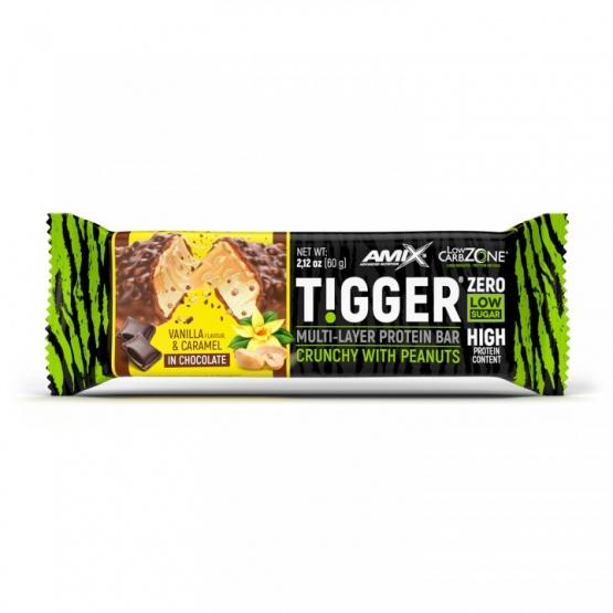 tigger zero protein bar amix