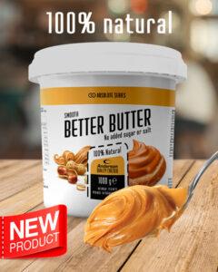 burro di arachidi better butter