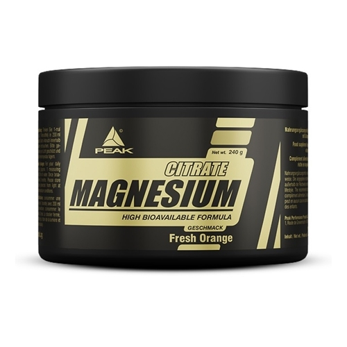 magnesium citrate peak